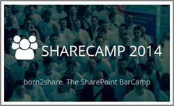 SHARECAMP 2014–born2share. The SharePoint Bar Camp