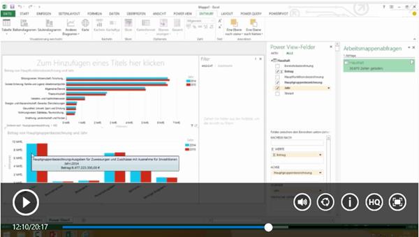 Open Data erschließen - Mit Microsoft und Power BI zu tiefen Einblicken aus offenen Daten